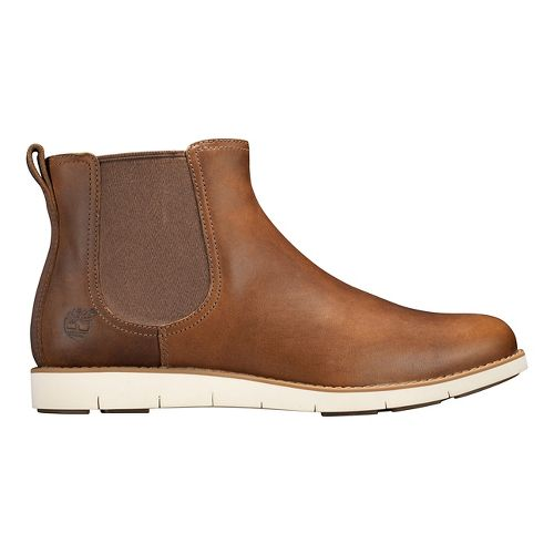 Womens Timberland Lakeville Chelsea Casual Shoe - Medium Brown 8.5