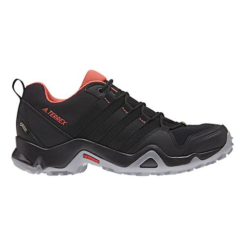 Womens adidas Terrex AX2R GTX Hiking Shoe - Black/Scarlet 7