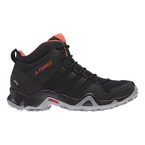 Womens adidas Terrex AX2R Mid GTX Hiking Shoe - Black/Scarlet 9