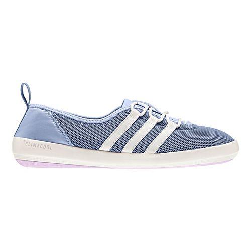 Womens adidas Terrex CC Boat Sleek Casual Shoe - Blue/White/Pink 10