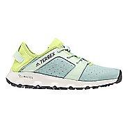 Womens adidas Terrex CC Voyager Sleek Trail Running Shoe - Green/Yellow 8.5