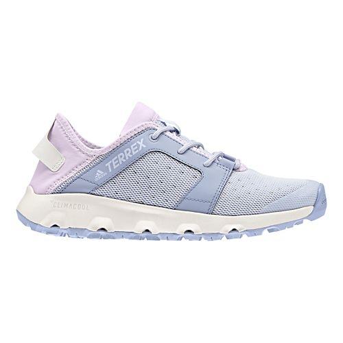 Womens adidas Terrex CC Voyager Sleek Trail Running Shoe - Blue/Pink 5