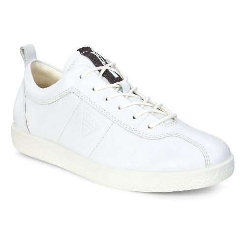 Womens Ecco Soft 1 Sneaker Casual Shoe - White 39