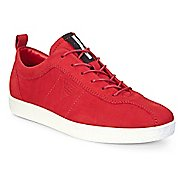 Womens Ecco Soft 1 Sneaker Casual Shoe - Chili Red 41