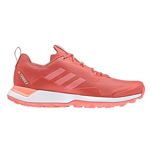 Womens adidas Terrex CMTK Trail Running Shoe - Scarlet/White/Coral 8.5