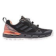 Womens adidas Terrex Fast GTX - Surround Hiking Shoe - Black/Grey/Coral 8.5