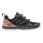 Womens adidas Terrex Fast GTX - Surround Hiking Shoe - Black/Grey/Coral 9
