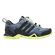 Womens adidas Terrex Swift R2 GTX Hiking Shoe - Grey/Black/Yellow 6.5
