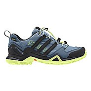 Womens adidas Terrex Swift R2 GTX Hiking Shoe - Grey/Black/Yellow 7.5