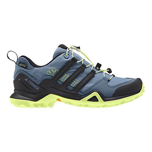 Womens adidas Terrex Swift R2 GTX Hiking Shoe - Grey/Black/Yellow 8