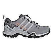 Womens adidas Terrex Swift R2 GTX Hiking Shoe - Grey/Coral 6.5