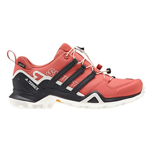 Womens adidas Terrex Swift R2 GTX Hiking Shoe - Scarlet/White 10.5