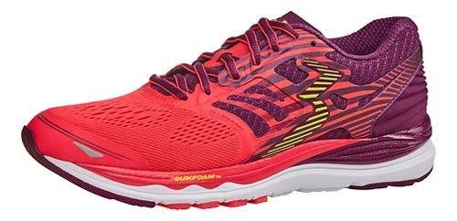 Womens 361 Degrees Meraki Running Shoe - Diva Pink/Tart 7