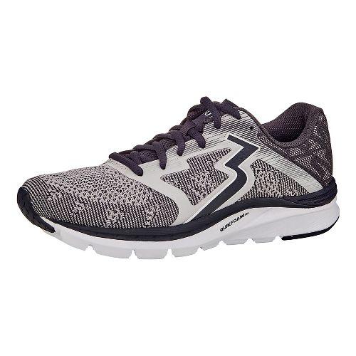 Womens 361 Degrees Spinject Running Shoe - Medium Grey 10.5