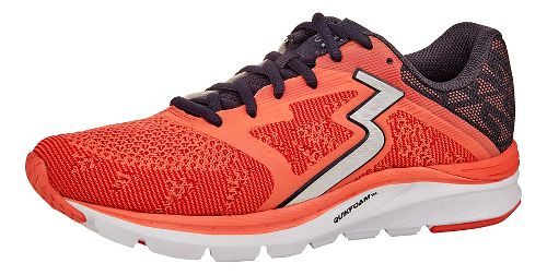 Womens 361 Degrees Spinject Running Shoe - Cali Coral/Ebony 11.5