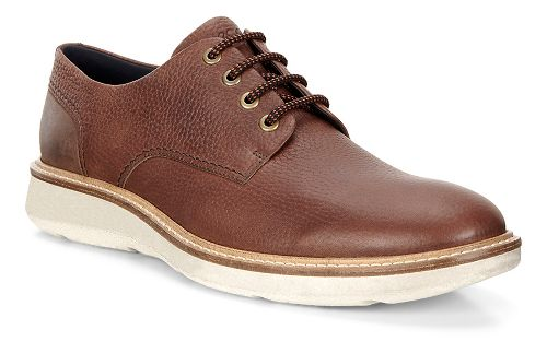 Mens Ecco Aurora Tie Casual Shoe - Cocoa Brown 43