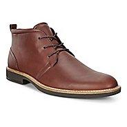 Mens Ecco Biarritz Modern Boot Casual Shoe - Rust 42