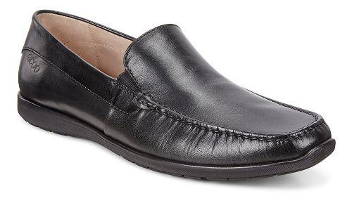 Mens Ecco Dallas Casual Moc Casual Shoe - Black 40