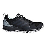 Womens adidas Terrex Tracerocker GTX Trail Running Shoe - Black/Green 10.5