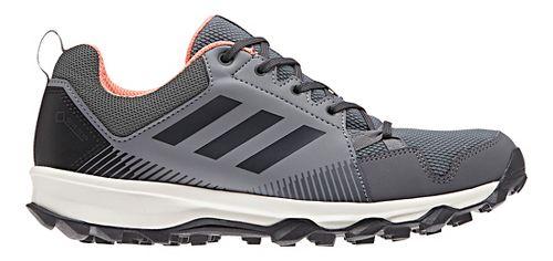 Womens adidas Terrex Tracerocker GTX Trail Running Shoe - Grey/Coral 11