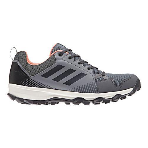 Womens adidas Terrex Tracerocker GTX Trail Running Shoe - Grey/Coral 6.5