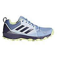 Womens adidas Terrex Tracerocker Trail Running Shoe - Blue/Purple/Yellow 7.5