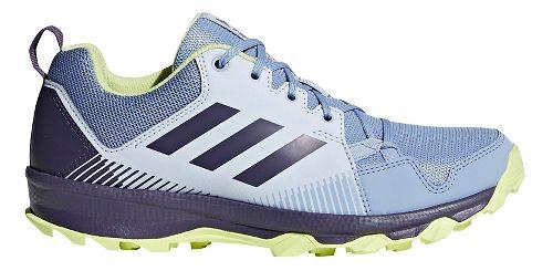 Womens adidas Terrex Tracerocker Trail Running Shoe - Blue/Purple/Yellow 6.5