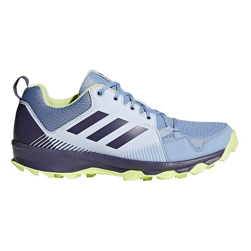 Womens adidas Terrex Tracerocker Trail Running Shoe - Blue/Purple/Yellow 7.5