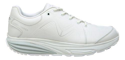 Mens MBT Simba Trainer Walking Shoe - White/Silver 7.5