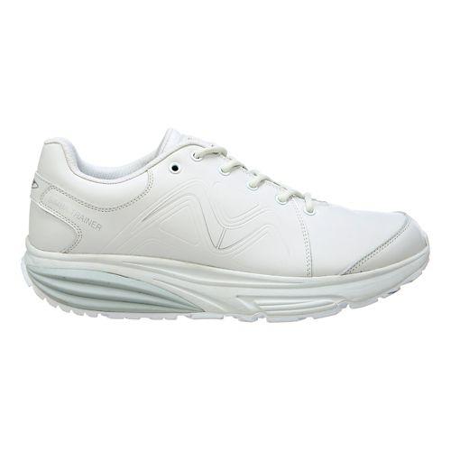 Mens MBT Simba Trainer Walking Shoe - White/Silver 11