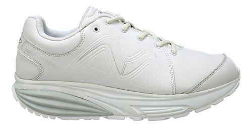 Womens MBT Simba Trainer Walking Shoe - White/Silver 6
