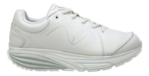 Womens MBT Simba Trainer Walking Shoe - White/Silver 8