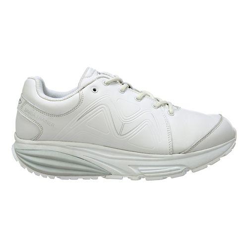 Womens MBT Simba Trainer Walking Shoe - White/Silver 10