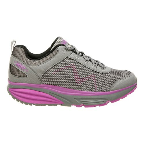 Womens MBT Colorado 17 Walking Shoe - Grey/Purple 7.5