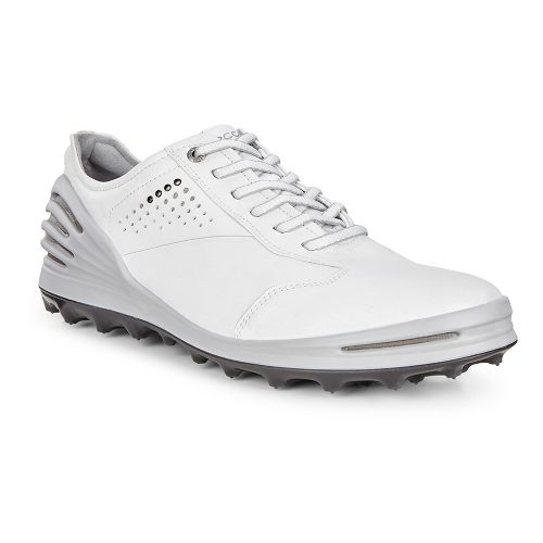 Mens Ecco Golf Cage Pro Cleated Shoe - White 46