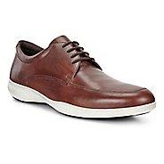 Mens Ecco Grenoble Modern Tie Casual Shoe - Cognac 42