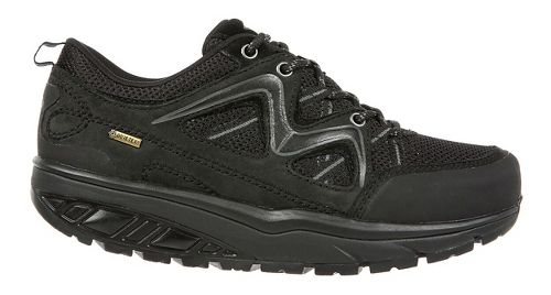 Womens MBT Himaya GTX Running Shoe - Black/Black 38