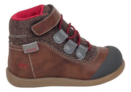 Kids See Kai Run Sam WP Casual Shoe - Brown 5C