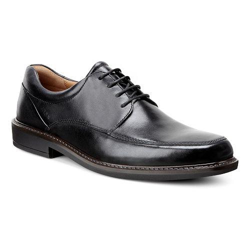 Mens Ecco Holton Apron Toe Tie Casual Shoe - Black 47