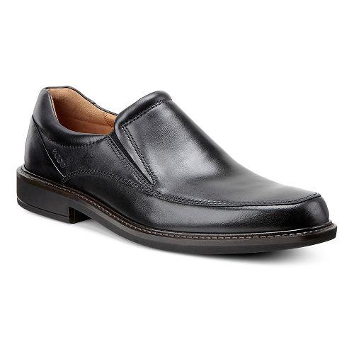 Mens Ecco Holton Apron Toe Slip On Casual Shoe - Black 39