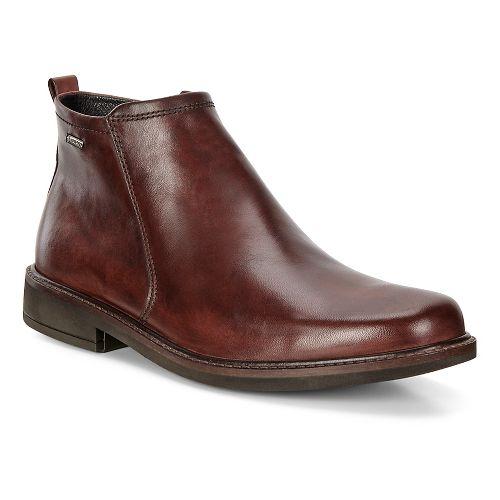 Mens Ecco Holton Plain Toe GTX Boot Casual Shoe - Mink 46