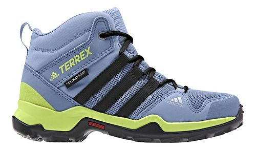 Kids adidas Terrex AX2R Mid CP Hiking Shoe - Blue/Black/Yellow 12C