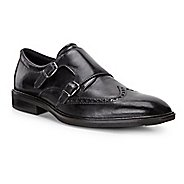 Mens Ecco Illinois Monk Strap Casual Shoe