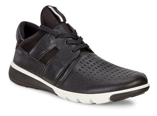 Mens Ecco Intrinsic 2 Perf Casual Shoe - Black/Black 42