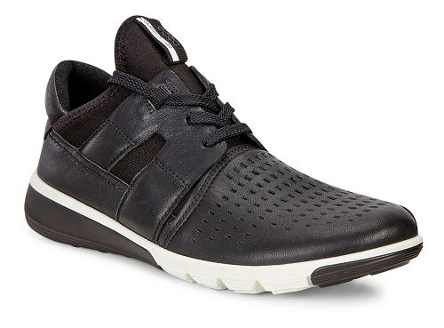 Mens Ecco Intrinsic 2 Perf Casual Shoe - Black/Black 43