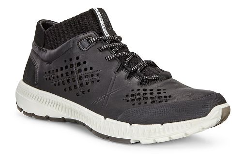 Mens Ecco Intrinsic TR Mid Casual Shoe - Black/Black 43