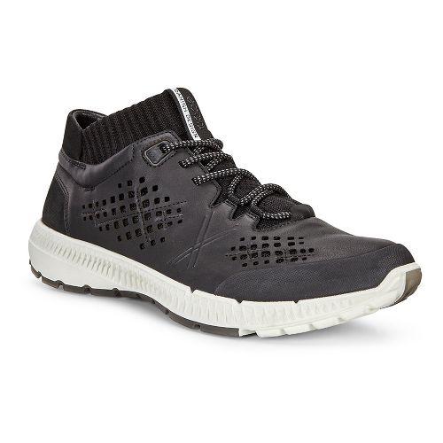 Mens Ecco Intrinsic TR Mid Casual Shoe - Black/Black 41