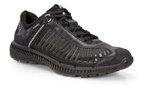 Mens Ecco Intrinsic TR Run Casual Shoe - Black/Black 43