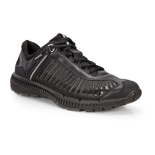 Mens Ecco Intrinsic TR Run Casual Shoe - Black/Black 44