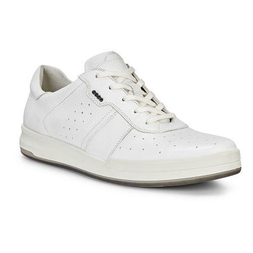 Mens Ecco Jack Retro Sneaker Casual Shoe - Bright White 47